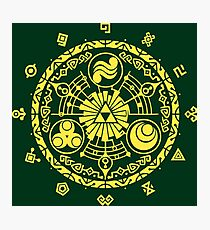 The legend of Zelda - Hyrule History Photographic Print