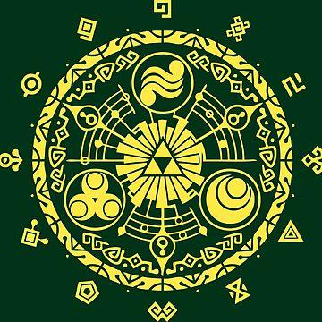 The legend of Zelda - Hyrule History by Gustavinlavin