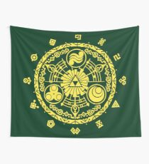 The legend of Zelda - Hyrule History Wall Tapestry
