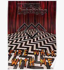 Fire Walk With Me Poster Poster