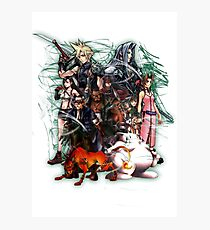 Final Fantasy VII - Collage Photographic Print