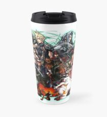 Final Fantasy VII - Collage Thermobecher