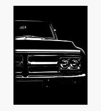 gmc, gmc truck 1972 Photographic Print