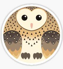 Common Barn Owl Sticker