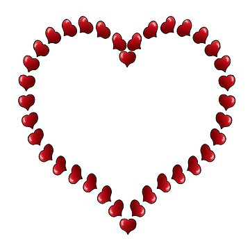 HEARTS, ROMANCE, affection, Valentine, Little, Love Heart by TOMSREDBUBBLE