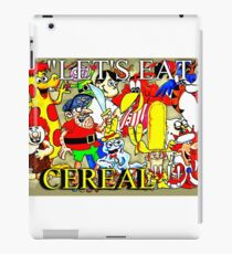 """""""LET'S EAT CEREAL""""!! iPad Case/Skin"""