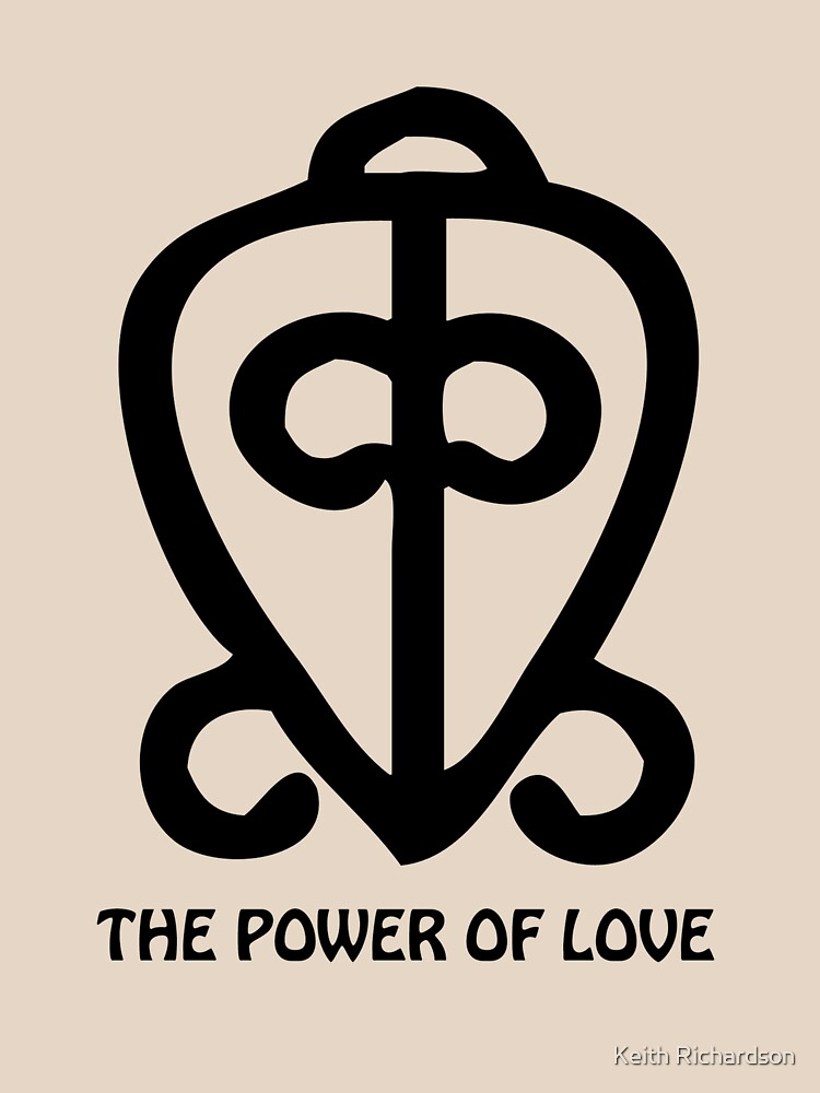 T Shirt Adinkra Symbol Power Of Love Classic T Shirt By Keithcr