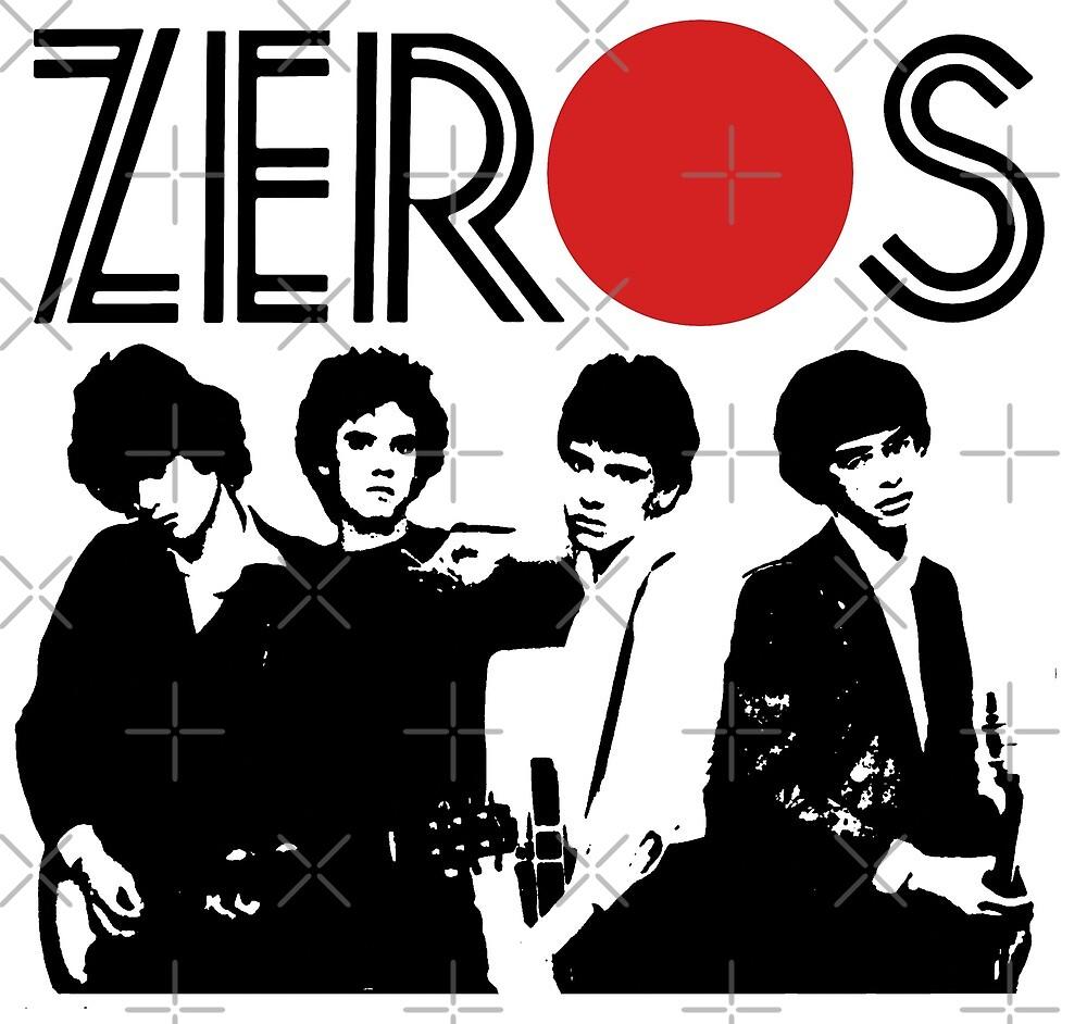 U0026quot The Zeros Band T Shirt U0026quot By Vanitees5211 Redbubble