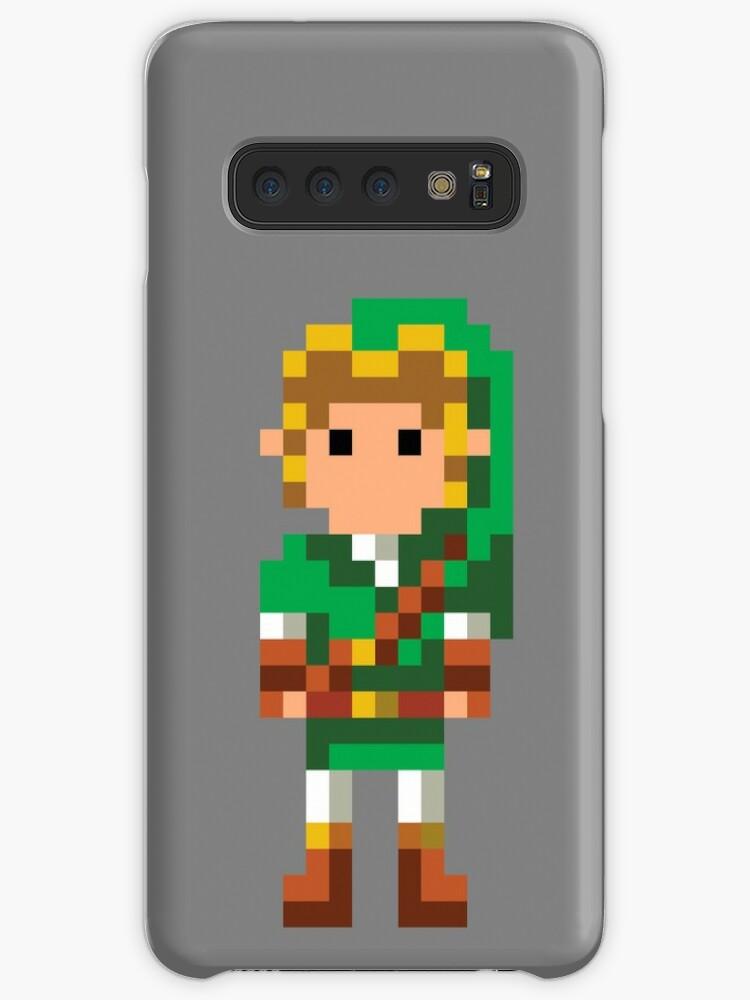 The Legend Of Zelda 16 Bit Link Case Skin For Samsung Galaxy By Crampsy Design