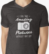 Photographer Without any App Photography Quote T-Shirt