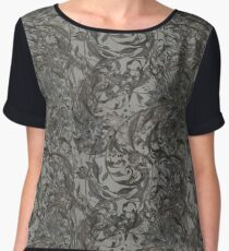 Abstract floral patterns Women's Chiffon Top