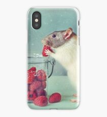 Snoozy always loves his food iPhone Case