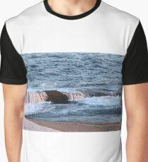 Nova Scotia Ocean Graphic T-Shirt