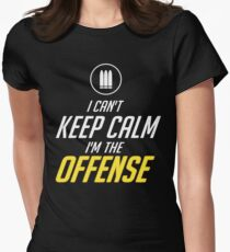 OFFENSE  Womens Fitted T-Shirt
