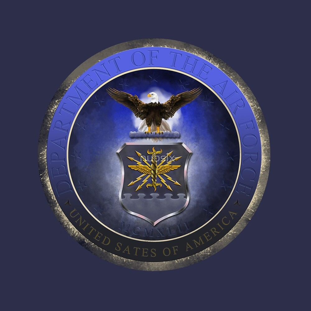 Seal of the Air Force  by nubsix