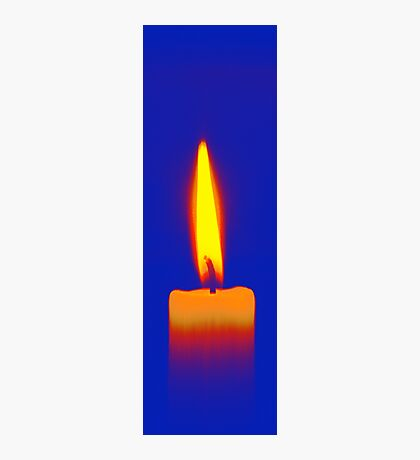 Coloured Candle Photographic Print
