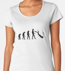 Evolution dive Women's Premium T-Shirt