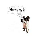 Hungry Bangkaew Dog with Bones by Thinglish Lifestyle