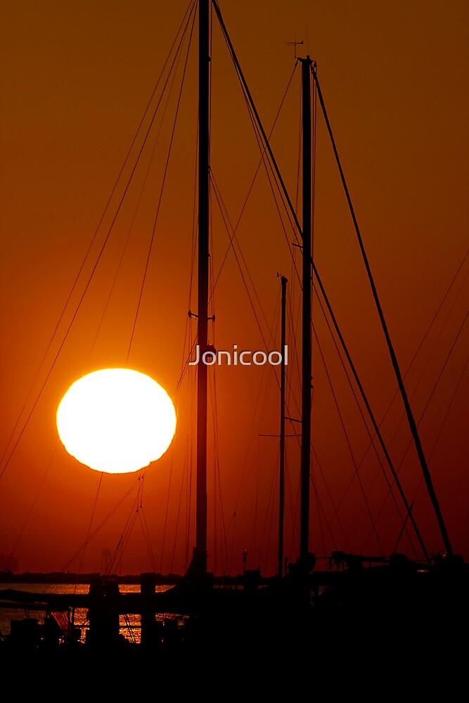 End of Day in Biloxi by Jonicool