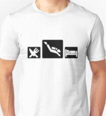 Eat Dive Sleep Unisex T-Shirt
