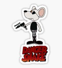 Danger Snake Sticker