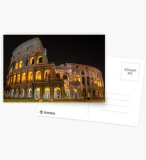 Coliseum in Rome Postcards