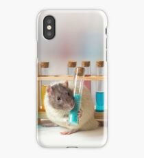 Working at the Laboratory iPhone Case