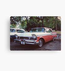50s Car #2 Canvas Print