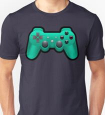 Video Game Inspired Console Playstation Dualshock Gamepad  Unisex T-Shirt