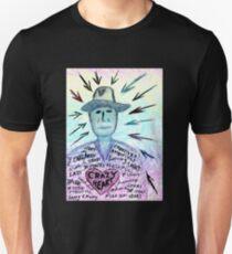 Crazy heart Unisex T-Shirt