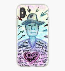 Crazy heart iPhone Case