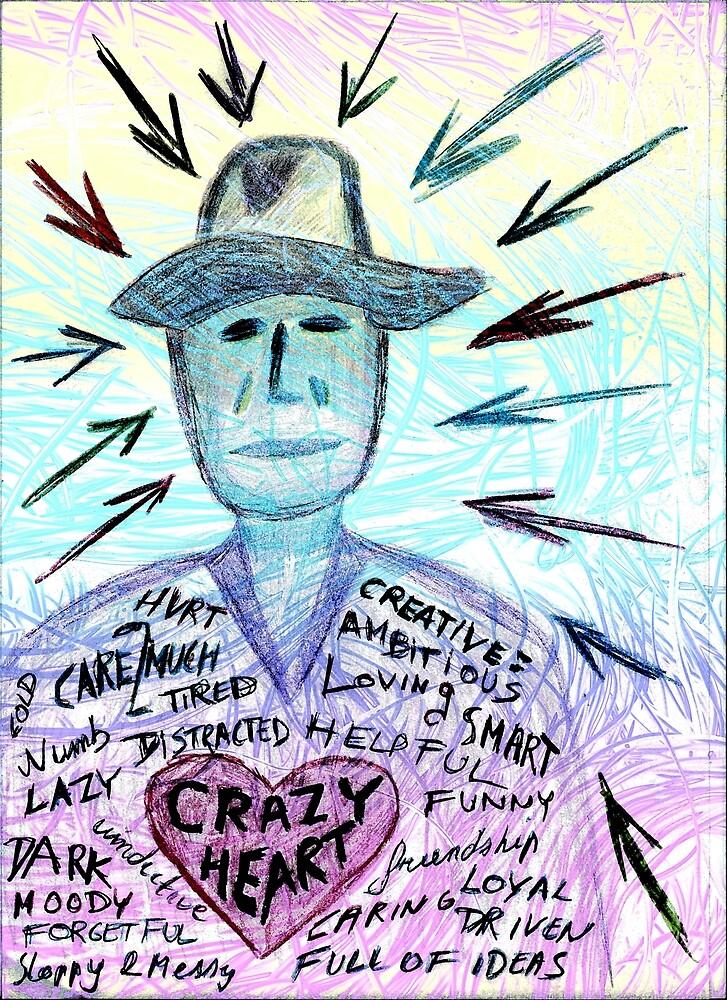 Crazy heart by Dave Crokaert