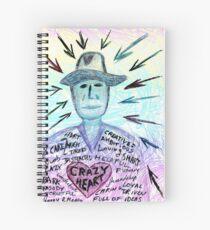 Crazy heart Spiral Notebook