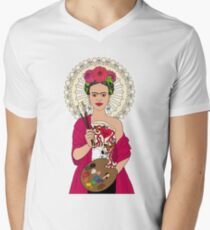 La Patrona Mens V-Neck T-Shirt