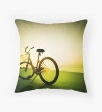 morning shine Throw Pillow