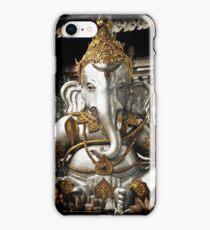 Silver Ganesh, Chiang Mai, Thailand. iPhone Case/Skin