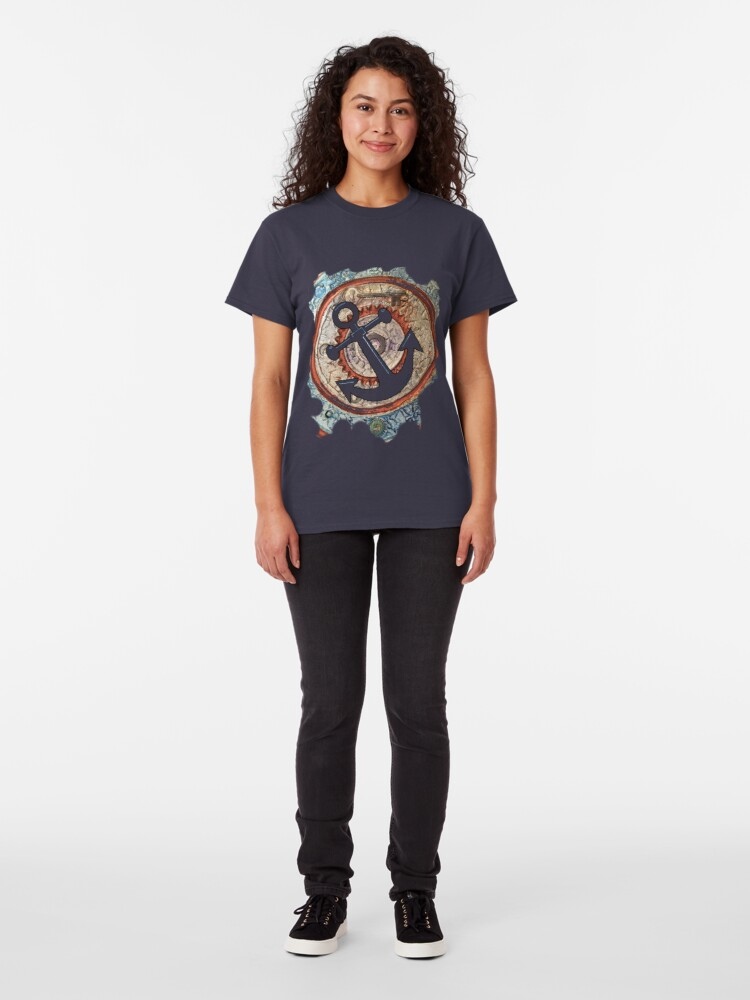 Alternate view of ANCHORS AWAY - BOAT ANCHOR Classic T-Shirt