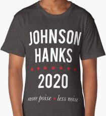 Johnson Hanks 2020 - More Poise Less Noise Long T-Shirt