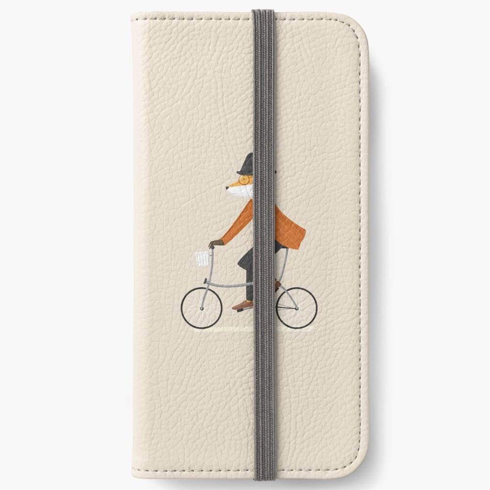 Mr. Fox is on His Way iPhone Wallet