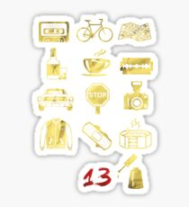 13 Icons Why Sticker