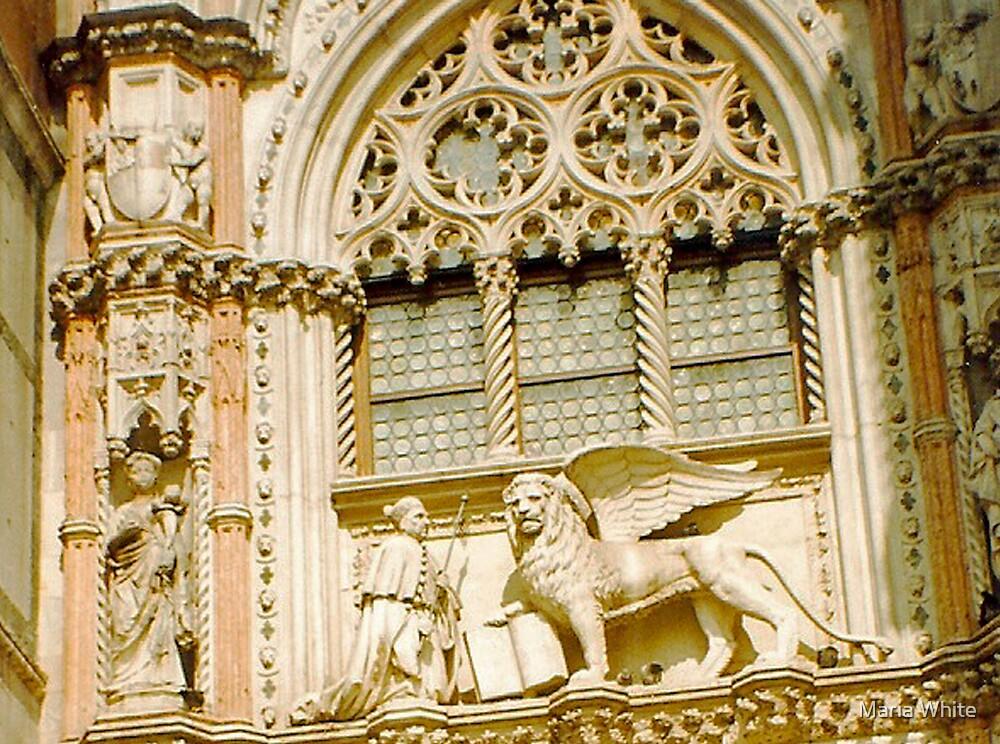 Saint Mark Lion by Maria White