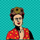Frida in Red by Lisa Vollrath