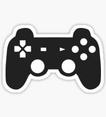 Video Game Inspired Console Playstation Dualshock Gamepad Sticker