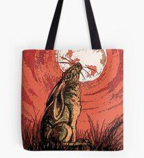 Moon Gazer Hare, Artwork Tote Bag