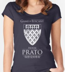Game of Tuscany - Prato Women's Fitted Scoop T-Shirt