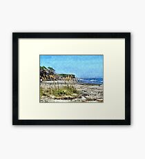 South Carolina Coastline 2 Framed Print