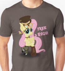 Steampunk Fluttershy - Free Hugs Unisex T-Shirt