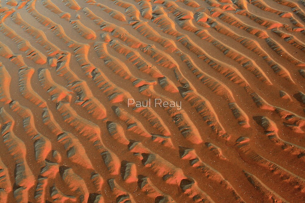 Ripples in the Sand by Paul Reay