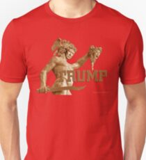 Perseus Slays Medusa (Trump-Hillary) Unisex T-Shirt