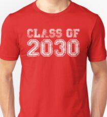 Vintage Class of 2030 Unisex T-Shirt